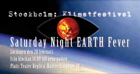 Klimafestival - Saturday night EARTH Fever